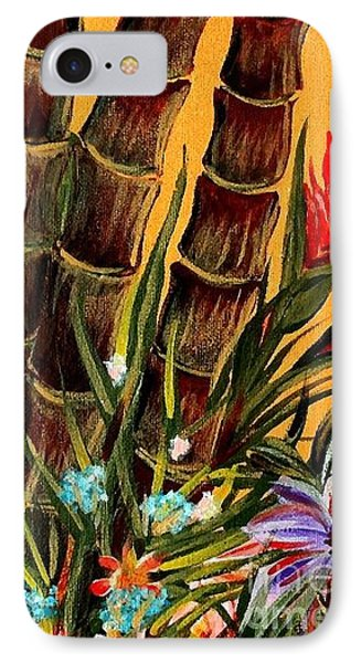 Tropical Bamboo Phone Case by Valarie Pacheco