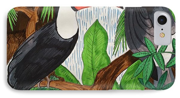 Toucans Phone Case by Ethan Altshuler