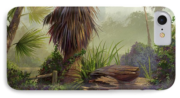 Tropical Blend IPhone Case