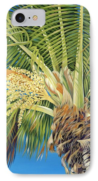 Tropical Bloom Phone Case by Danielle  Perry