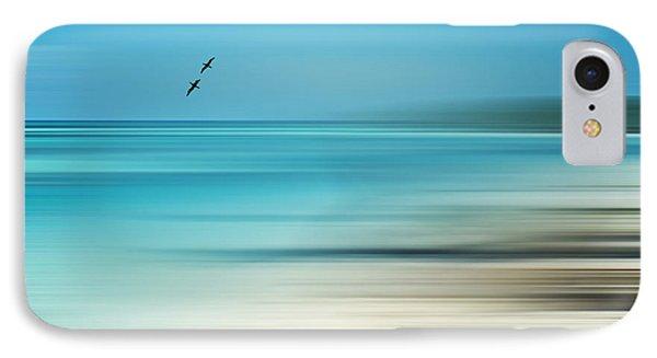 Tropical Cove Horizon Phone Case by Deborah Smith