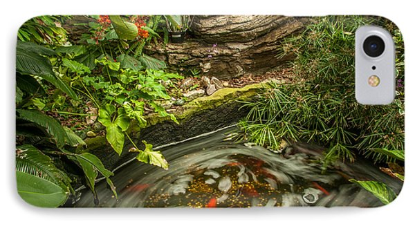 Tropical Koi Pond Swirl IPhone Case
