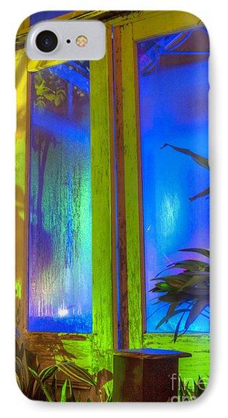 Tropical Door IPhone Case by Darleen Stry