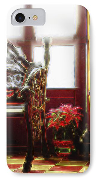 IPhone Case featuring the digital art Tropical Drawing Room 1 by William Horden