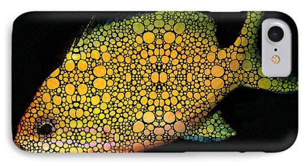 Tropical Fish Art 14 By Sharon Cummings IPhone Case by Sharon Cummings