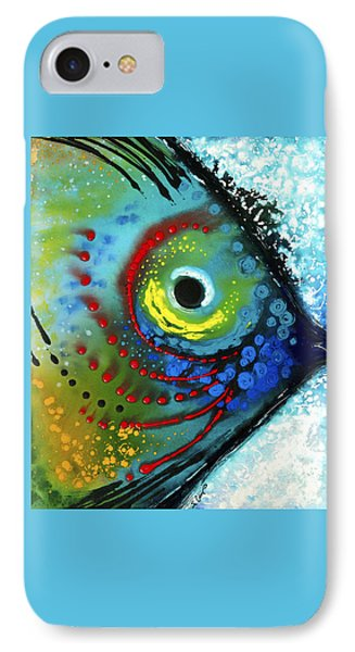 Tropical Fish - Art By Sharon Cummings IPhone Case by Sharon Cummings