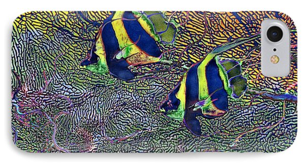 Coral Reef Tropical Fish Colorful Water Art IPhone Case