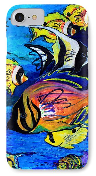 Tropical Fish Phone Case by Karon Melillo DeVega