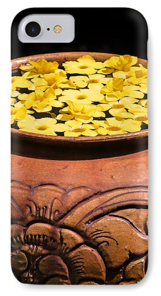IPhone Case featuring the photograph Tropical Flower Pot by Rob Tullis