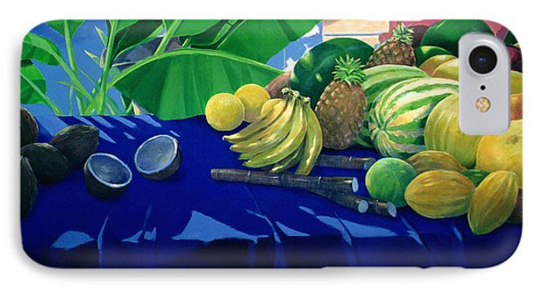 Tropical Fruit IPhone 7 Case by Lincoln Seligman