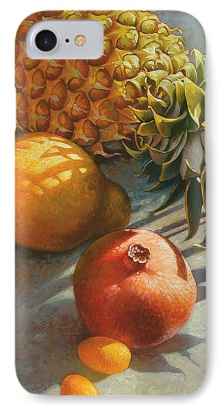 Tropical Fruit IPhone Case by Mia Tavonatti