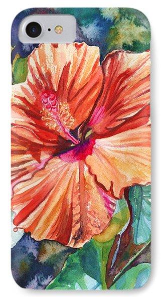 Tropical Hibiscus 5 IPhone Case
