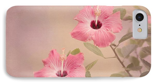 Tropical Hibiscus Phone Case by Kim Hojnacki