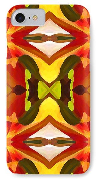 Tropical Leaf Pattern  11 Phone Case by Amy Vangsgard