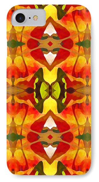 Tropical Leaf Pattern 8 Phone Case by Amy Vangsgard