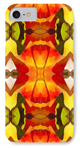 Tropical Leaf Pattern  9 Phone Case by Amy Vangsgard