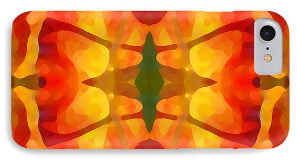 Tropical Leaf Pattern5 Phone Case by Amy Vangsgard