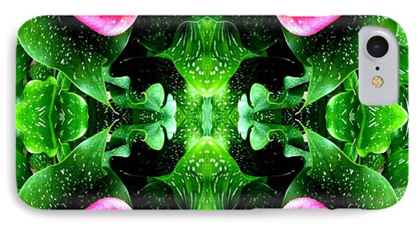 Tropical Lush-us Abstract Phone Case by Marianne Dow