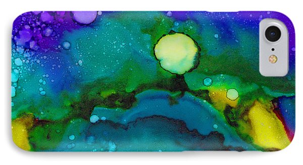 Tropical Moon IPhone Case by Angela Treat Lyon