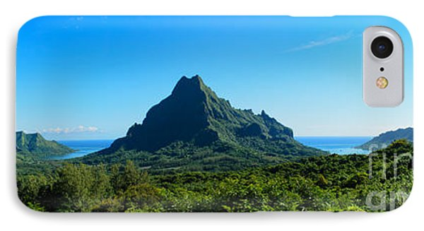 Tropical Moorea Panorama IPhone Case by IPics Photography