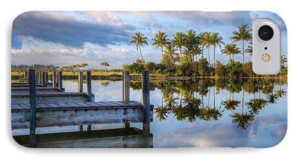 Tropical Morning Phone Case by Debra and Dave Vanderlaan
