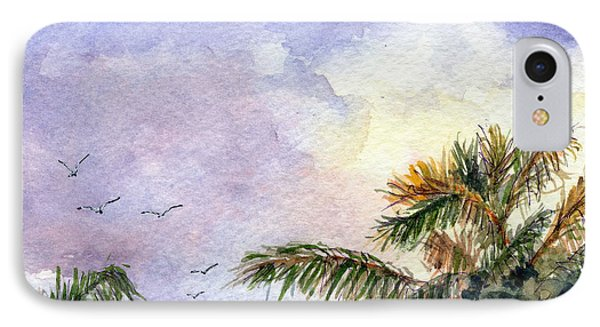 Tropical Morning IPhone Case