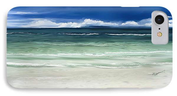 Tropical Ocean IPhone Case by Anthony Fishburne