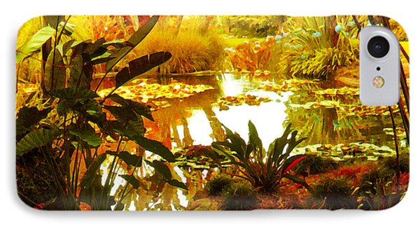 Tropical Paradise Phone Case by Amy Vangsgard