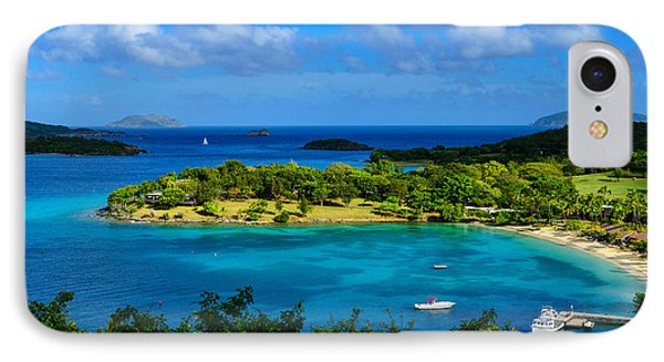 Tropical Paradise In The Virgin Islands IPhone Case by Greg Norrell