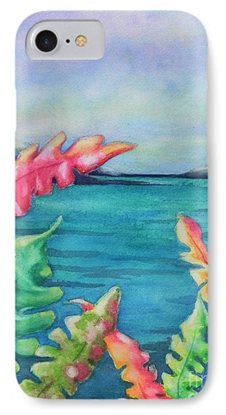 Tropical Scene IPhone Case by Chrisann Ellis