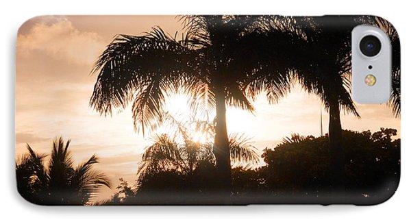 Tropical Sunrise IPhone Case by Mustafa Abdullah