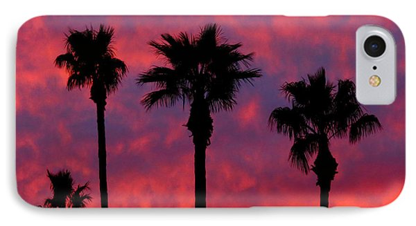 Tropical Sunset IPhone Case by Laurel Powell