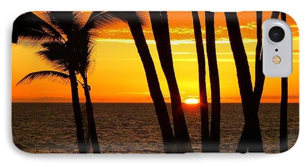 Tropical Sunset IPhone Case by Lori Seaman