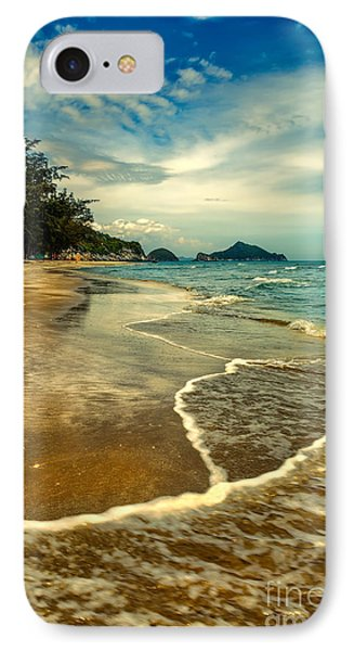 Tropical Waves Phone Case by Adrian Evans