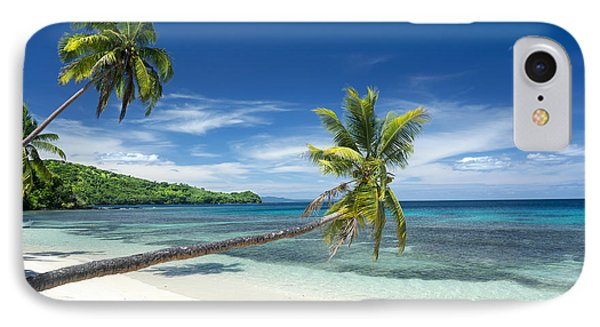 Tropical White Sand Beach IPhone Case by Joe Belanger