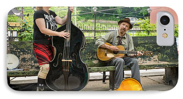 Troubadours Of Basin Spring Park IPhone Case by Bill Pevlor