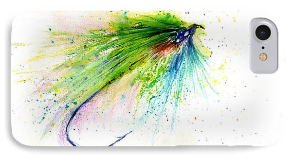 Trout Fly Phone Case by Christy Lemp
