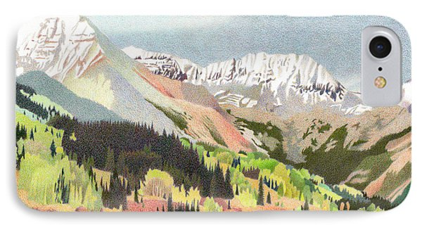 Trout Lake Colorado IPhone Case