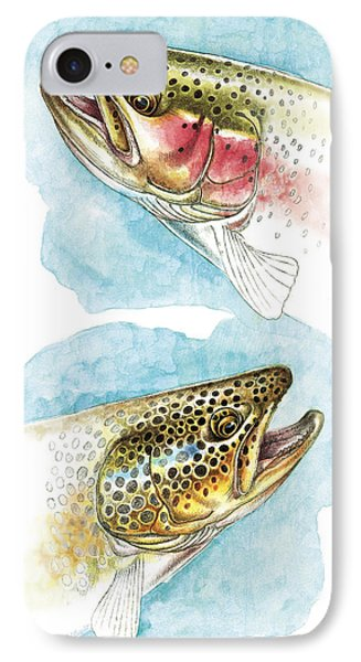 Trout Study IPhone Case