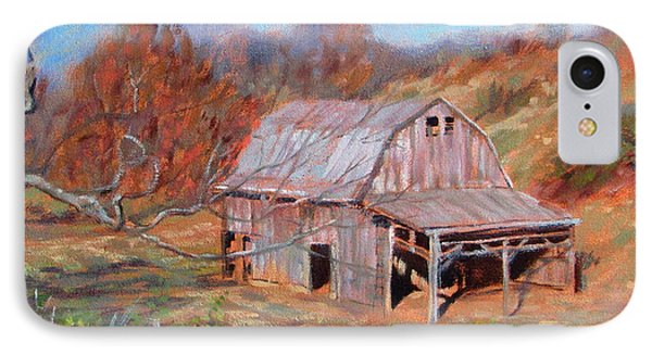 Troutville Barn IPhone Case by Bonnie Mason
