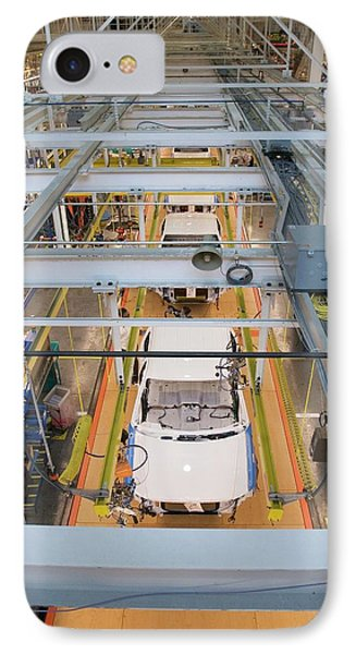 Truck Assembly Production Line IPhone Case by Jim West