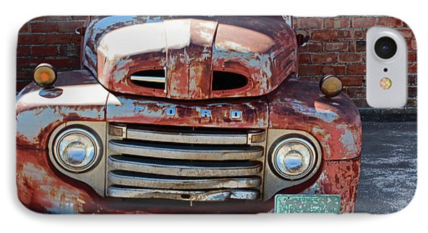 Ford In Goodland IPhone Case by Lynn Sprowl