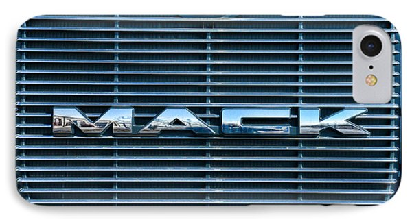 Truck - The Mack Grill Phone Case by Paul Ward