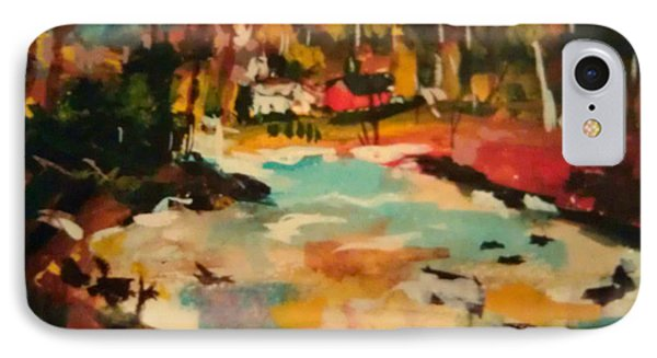Truckee River Impression IPhone Case