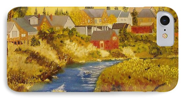 Truckee River - Truckee Ca IPhone Case by Mike Caitham
