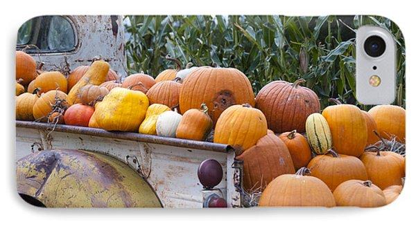 Truckful Of Pumpkins IPhone Case