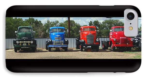 IPhone Case featuring the photograph Truckin by Tom DiFrancesca