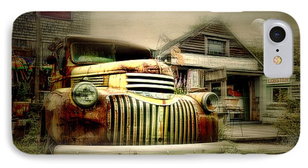 Truckyard IPhone Case by Diana Angstadt