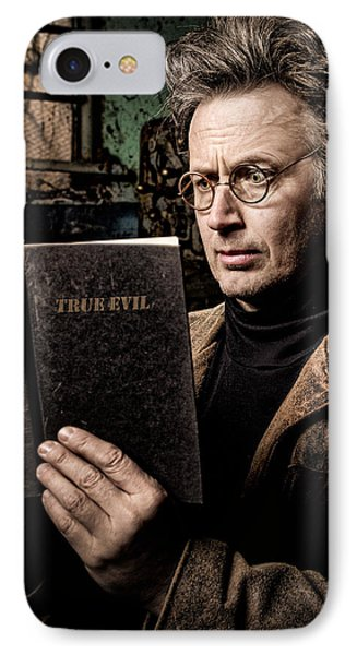 True Evil - Science Fiction - Horror IPhone Case