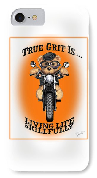True Grit IPhone Case by Jerry Ruffin